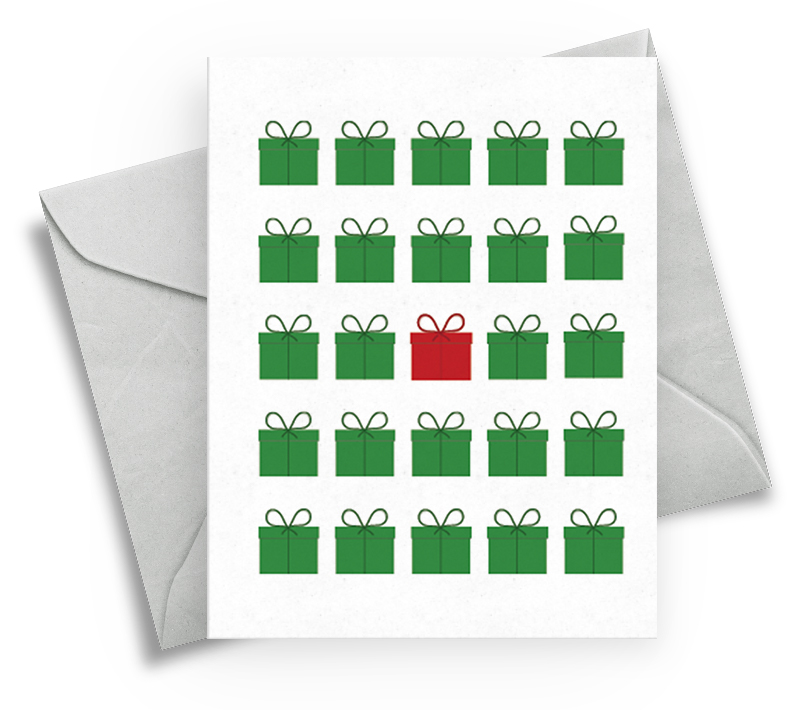 Christmas Card Generic for Family - Gifts & Presents